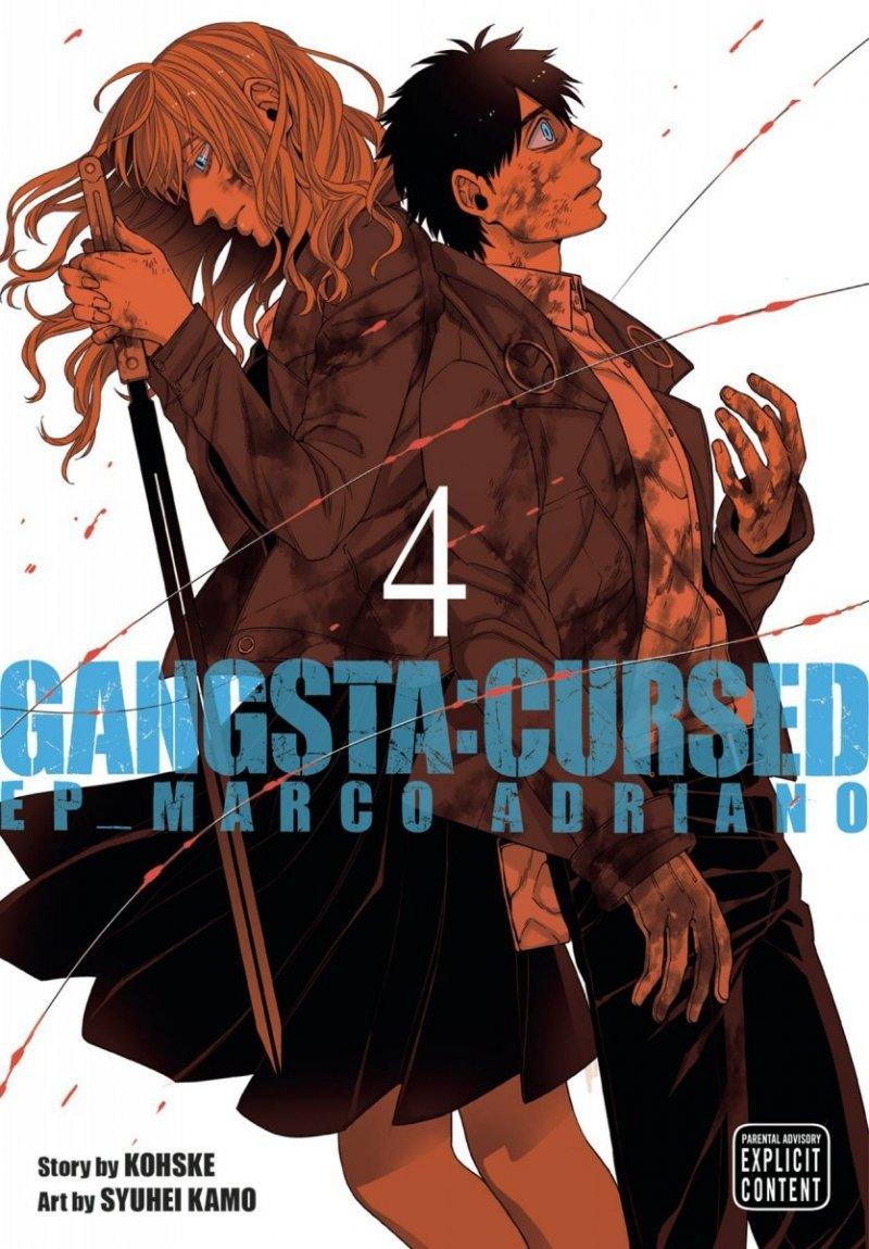 GANGSTA CURSED GN VOL 04 EP MARCO ADRIANO