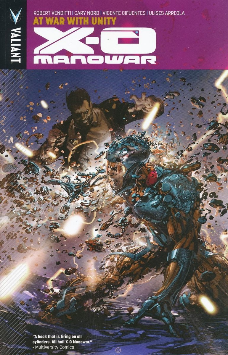 X-O MANOWAR TP VOL 05 AT WAR WITH UNITY (Oferta ekspozycyjna)