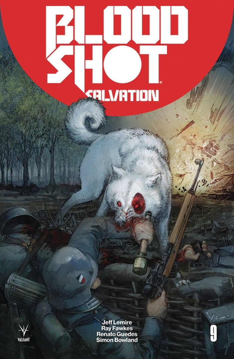 BLOODSHOT SALVATION #9 CVR A ROCAFORT