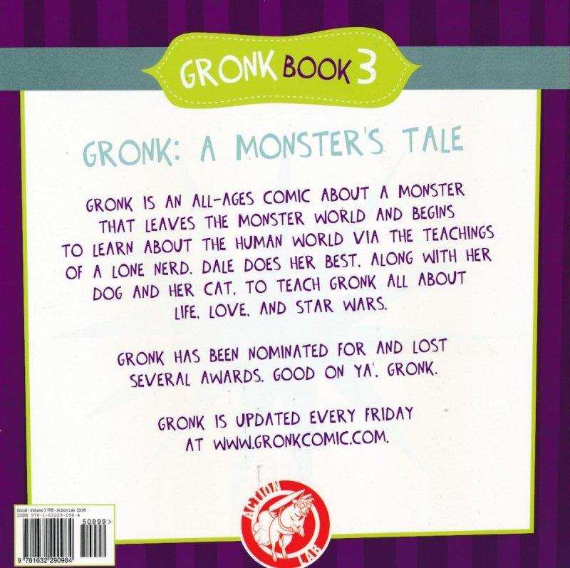 GRONK A MONSTERS STORY VOL 03 SC (Oferta ekspozycyjna)