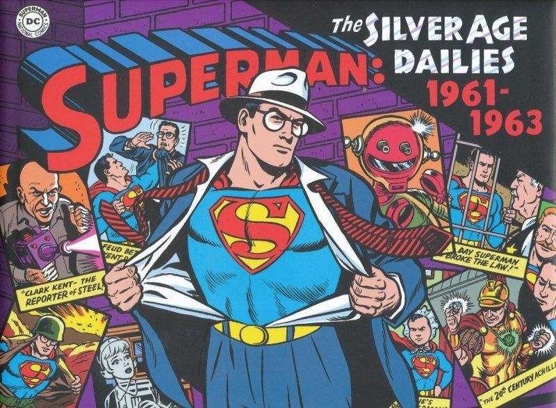 SUPERMAN SILVER AGE NEWSPAPER DAILIES HC VOL 02 1961-1963 (Oferta ekspozycyjna)