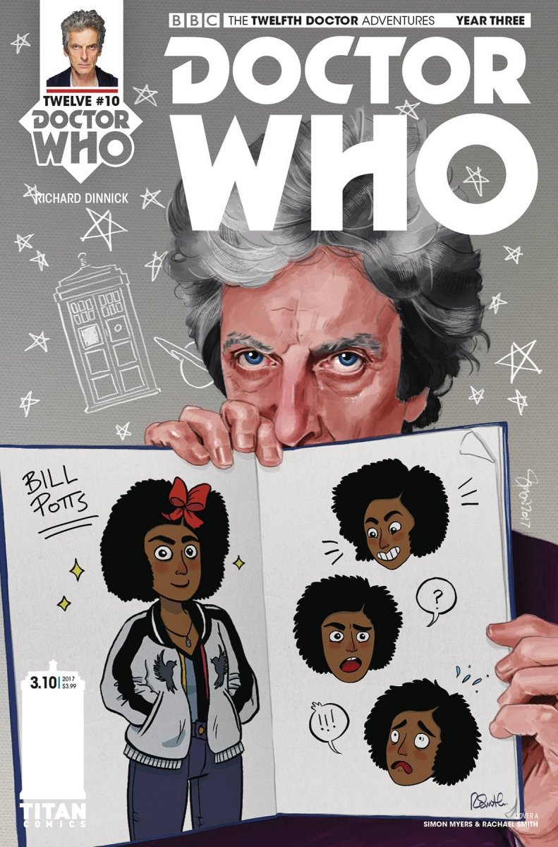 DOCTOR WHO 12TH YEAR THREE #10 CVR A MYERS & SMITH