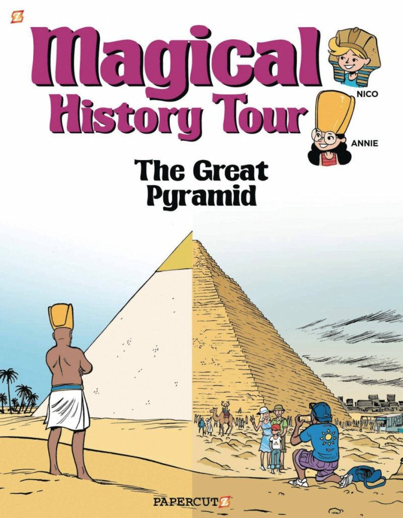 MAGICAL HISTORY TOUR GN VOL 01 GREAT PYRAMID