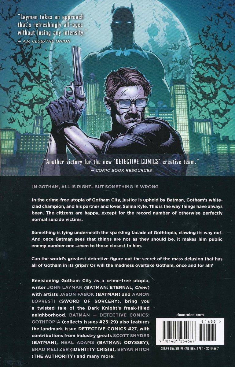 BATMAN DETECTIVE COMICS VOL 05 GOTHTOPIA SC (Oferta ekspozycyjna)
