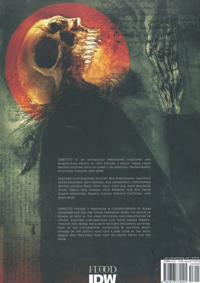 LIBRETTO TP VOL 01 VAMPIRISM (Oferta ekspozycyjna)