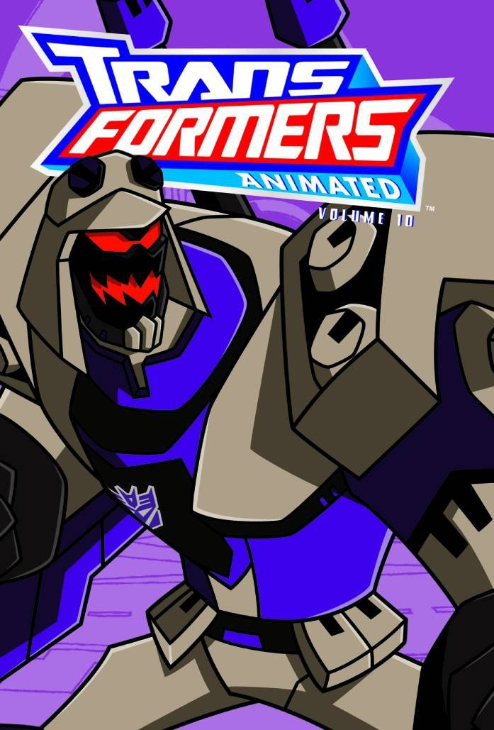 TRANSFORMERS ANIMATED TP VOL 10