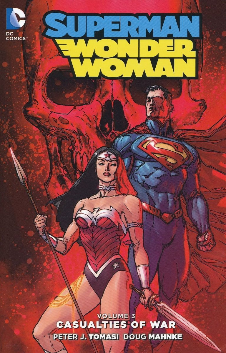 SUPERMAN WONDER WOMAN VOL 03 CASUALTIES OF WAR SC (Oferta ekspozycyjna)