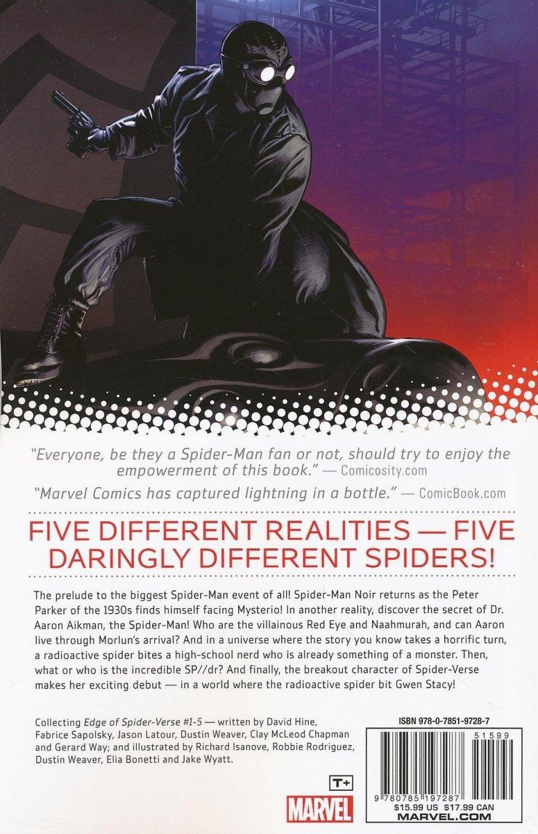AMAZING SPIDER-MAN EDGE OF SPIDER-VERSE TP (Oferta ekspozycyjna)