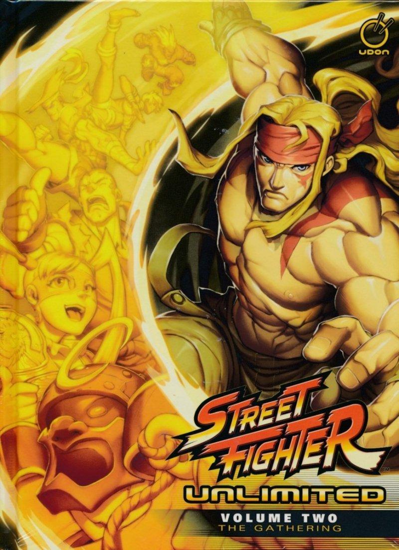 STREET FIGHTER UNLIMITED HC VOL 02 GATHERING