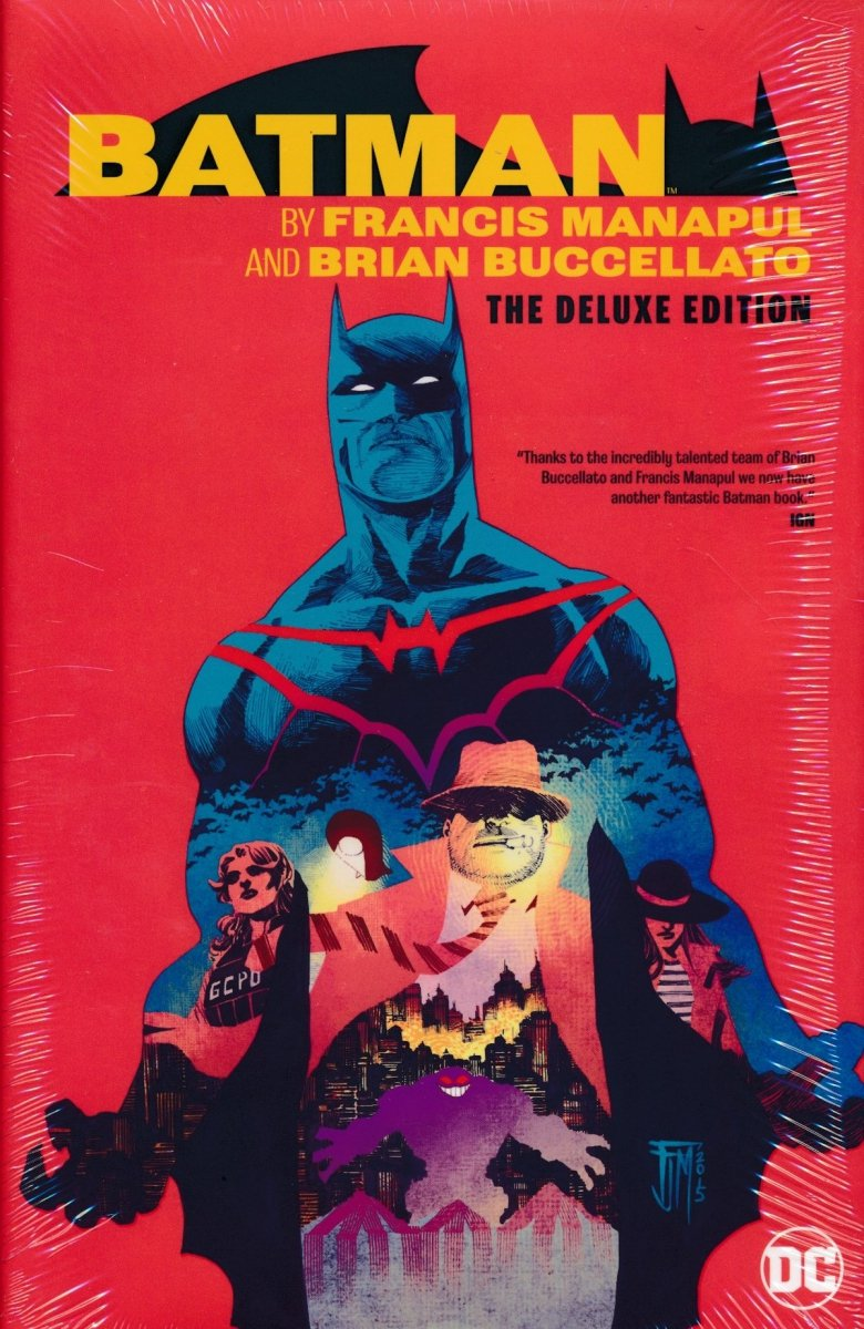 Oferta ekspozycyjna: BATMAN BY FRANCIS MANAPUL AND BRIAN BUCCELLATO THE DELUXE EDITION HC