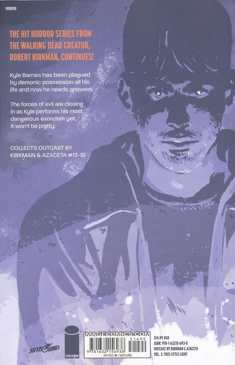 OUTCAST BY KIRKMAN AND AZACETA VOL 03 THIS LITTLE LIGHT SC (Oferta ekspozycyjna)