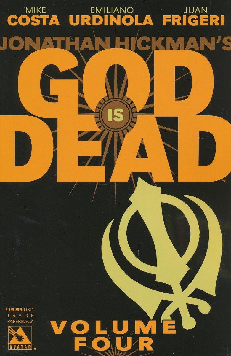 GOD IS DEAD VOL 04 SC (Oferta ekspozycyjna)