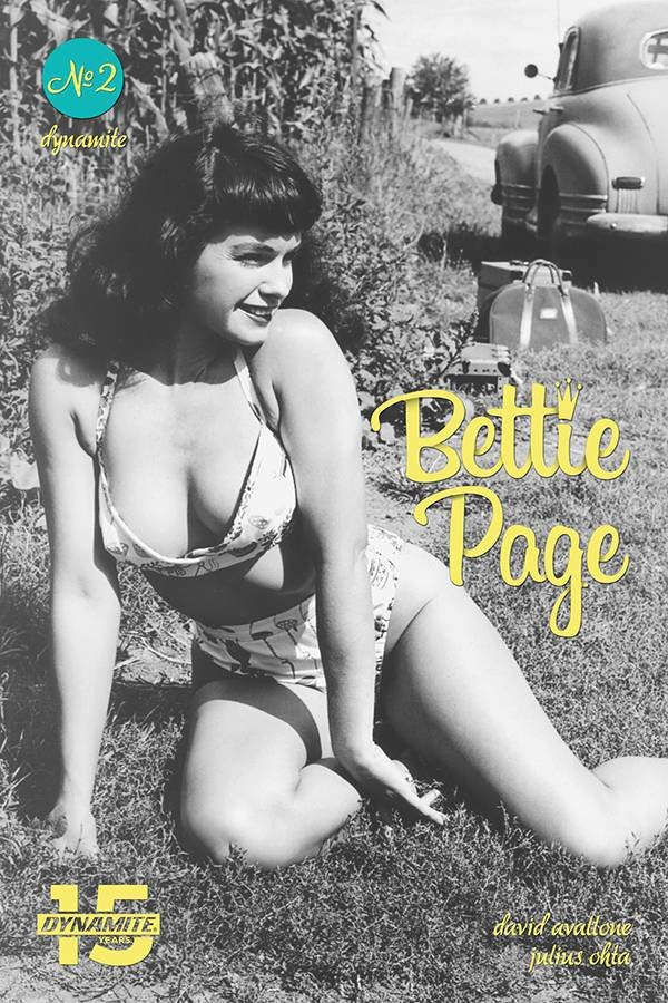 BETTIE PAGE UNBOUND #2 CVR E PHOTO