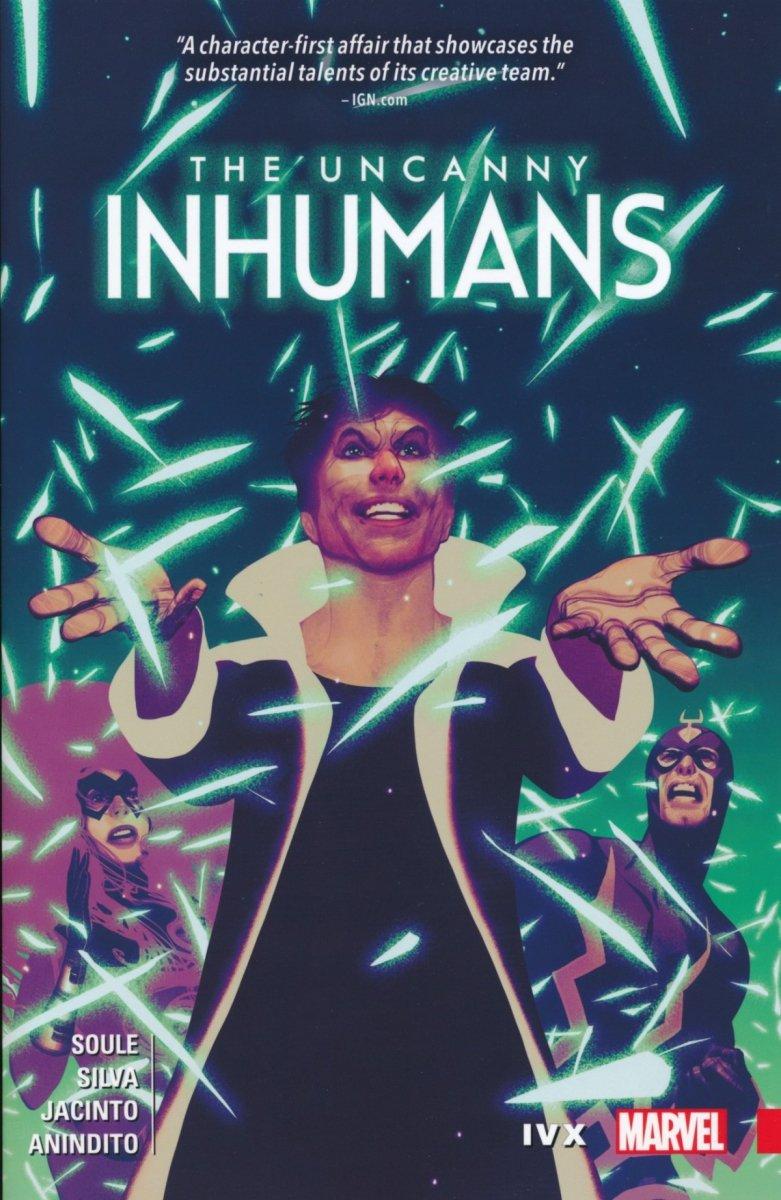 UNCANNY INHUMANS TP VOL 04 IVX (Oferta ekspozycyjna)