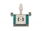 Przełącznik ślizgowy 3-pozycyjny ALPHA (WH)