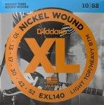 Struny D'ADDARIO XL Nickel Wound EXL140 (10-52)