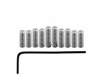 Metryczne śrubki regulacji siodełek VPARTS SSM-1B