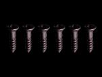 Wkręt GRAPH-TECH Phil Flat Black Alloy 1-2 (6szt.)