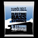 Struny ERNIE BALL 2810 Flatwound (45-130) 5str