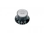 Gałka typu Bell BOSTON KB-130-V (czarna, volume)