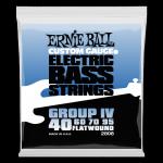 Struny ERNIE BALL 2808 Flatwound (40-95)