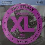 Struny D'ADDARIO XL ProSteels EPS520 (9-42)
