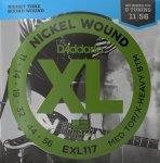 Struny D'ADDARIO XL Nickel Wound EXL117 (11-56)