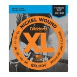 Struny D'ADDARIO XL Nickel EXL110-7 (10-59) 7str.