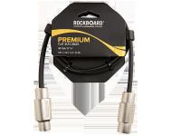 ROCKBOARD Flat XLR-XLR kabel patch, złączka (90cm)