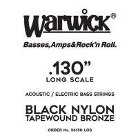 Struna WARWICK Black Nylon Tapewound LOS .130w