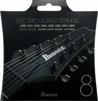 Struny IBANEZ IEGS8 (9-65) Nickel Wound