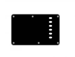 Maskownica tylna BOSTON -  Strat (czarna perła)