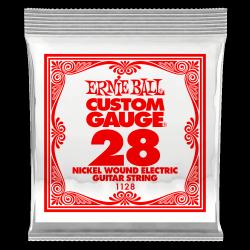 Pojedyncza struna ERNIE BALL Nickel Slinky 028w