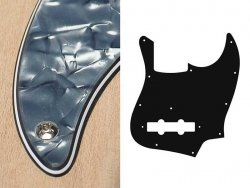 Pickguard BOSTON 62 J.Bass 4 warstwowy (PB)