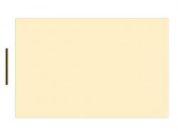 Materiał na pickguardy BOSTON 29x45cm (CRE/BK/CRE)