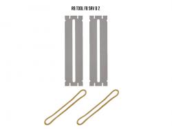 Blaszki ochronne do czyszczenia progów (bass XL)