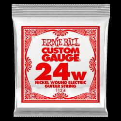 Pojedyncza struna ERNIE BALL Nickel Slinky 024w