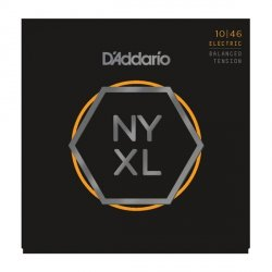 Struny D'ADDARIO NYXL Nickel Wound (10-46) BT