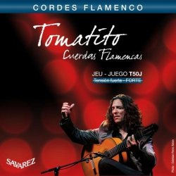 Struny do klasyka SAVAREZ Tomatito T50J (flamenco)