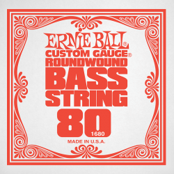 Struna do basu ERNIE BALL Slinky Nickel 080w
