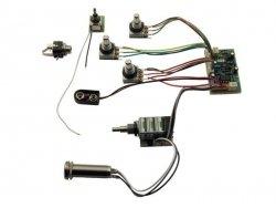 3-pasmowy equalizer MEC do basu FNA & Streamer JM M 60055