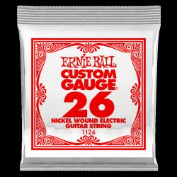 Pojedyncza struna ERNIE BALL Nickel Slinky 026w