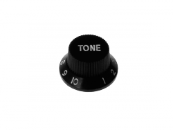 Gałka - typ Strat BOSTON KB-240-T (tone, czarna)