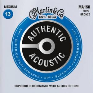 Struny do akustyka MARTIN Authentic MA150 (13-56)