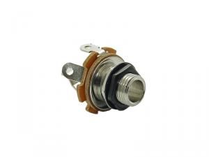Gniazdo jack mono 6,3mm VPARTS EJ-10 (BK)