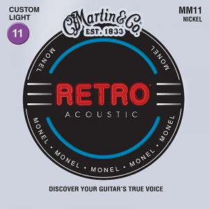 Struny do akustyka MARTIN MM11 Retro (11-52)