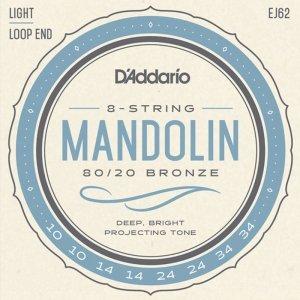 Struny do mandoliny D'ADDARIO EJ62 (10-34)