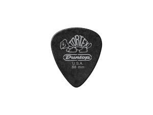 Kostki DUNLOP Tortex Pitch Black Standard 0,88