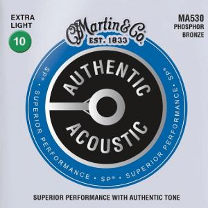 Struny do akustyka MARTIN Authentic MA530 (10-47)