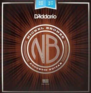 Struny D'ADDARIO Nickel Bronze NB1047-12 (10-47)